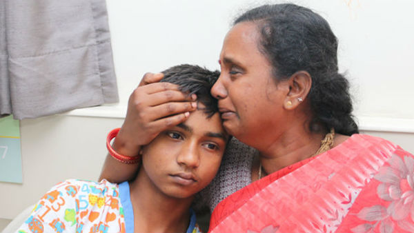Poor Mother Struggling Alone To Save Teenage Son Deadly Kidney Disease