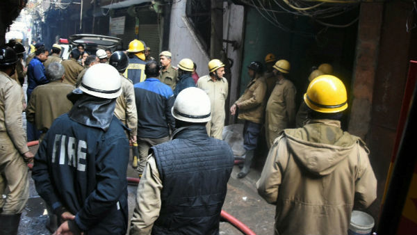 ‍Delhi Fire; Killed More Then 40 People Killed Several Injured