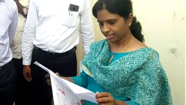Dc Deepa Cholan Surprised By Seeing Student Book