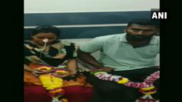 Man Marries Girlfriend In ICU After She Attempts Suicide, Escapes