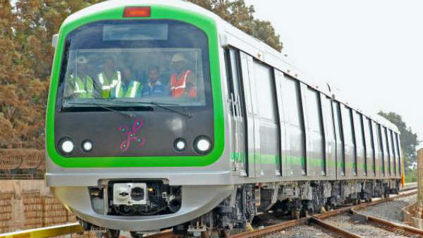 Bengalore Metro Increased 6 Compartment Trains For Green Line