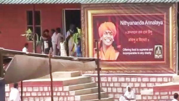 Nithyananda Followers In Gujarath Came To Bidadi Ashrama