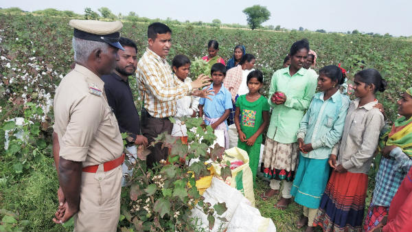 Child Labour Rescued In Yadagiri
