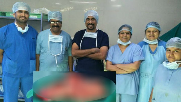 Mysuru Siddartha Hospital Doctors Removed 7 Kg Tumor From Women Uterus