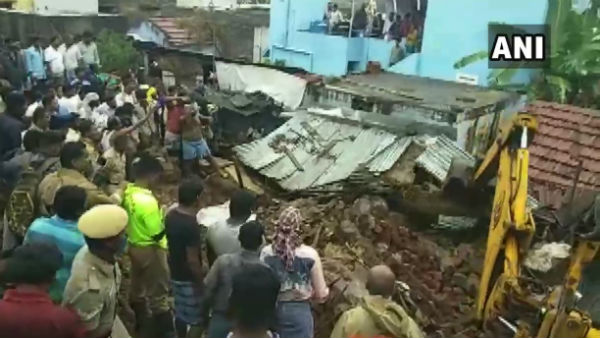15 Persons Dead After A Compound Wall Collapsed In Tamil Nadu