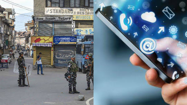 Internet Curb in J-K Due to Anti-India Posts From Pakistan
