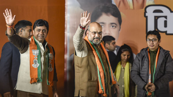 AAP Request EC 48 Hours Campaigning Ban On Amit Shah