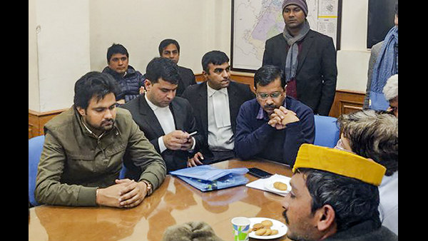 Arvind Kejriwal Files Nomination After Waiting Six Hours