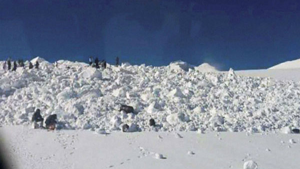 At Least 12 Died Series Avalanche In Kashmir