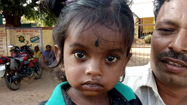 Child Lost In Temple, Safe At Hiriyur Police Station