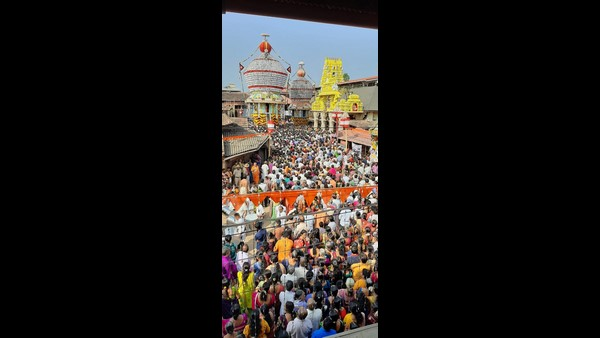 A Grand Chariot Festival In Udupi