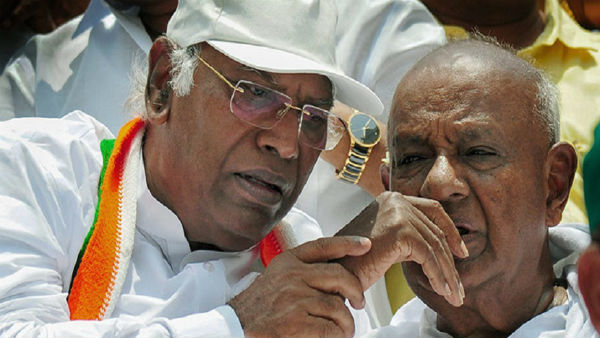 Deve Gowda And Mallikarjun Kharge Planing To Contest In Rajya Sabha Election