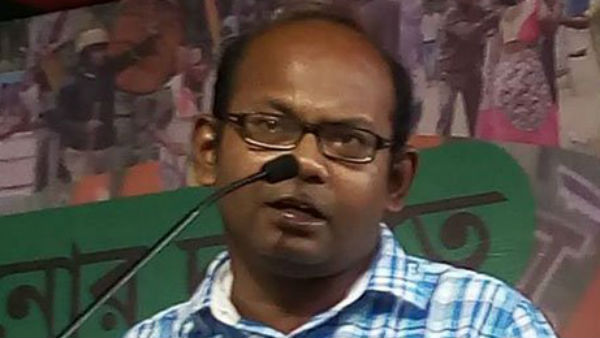 West Bengal BJP Leader Sayantan Basu Called Intellectuals Are Monkeys
