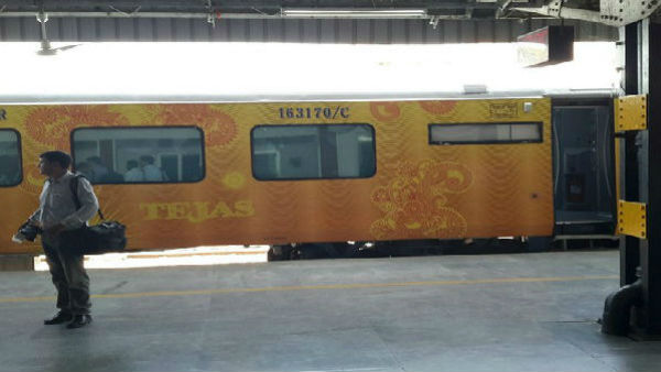 Tejas Express Delayed IRCTC To Pay Rs 63000 Compensation