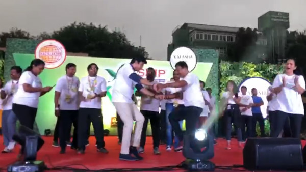 MP Tejasvi Surya Dance Goes Viral In Social Media