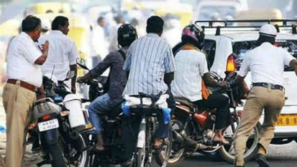 18 Crore Fine Collected For Traffic Violation Since 6 Years In Mysuru