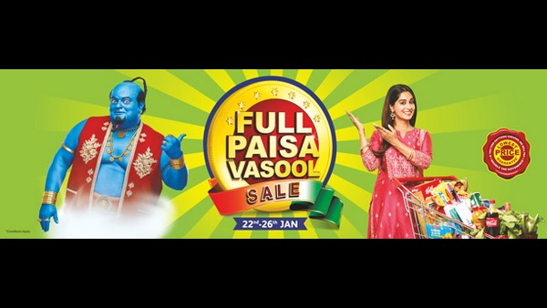 Reliance Fresh And Reliance Smart Announces Full Paisa Vasool Sale