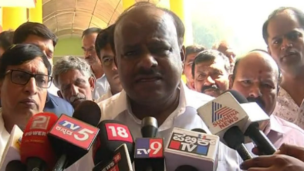 I Have Not Let This Type Of Incident Happened In My Administration Said HD Kumaraswamy