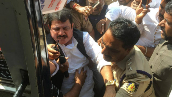 Zameer Ahmed Khan Arrested By Bellary Police