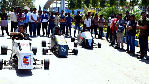 Gasoline Electric Formula Race Car Designing Workshop By Maharaja Institute of Technology