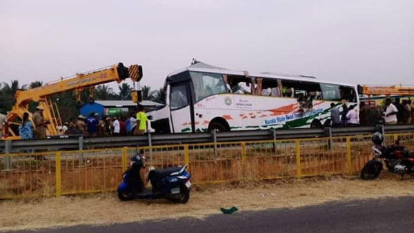 Kerala Bus from Bengaluru to Ernakulam meets with accident in TN, 17 people dead