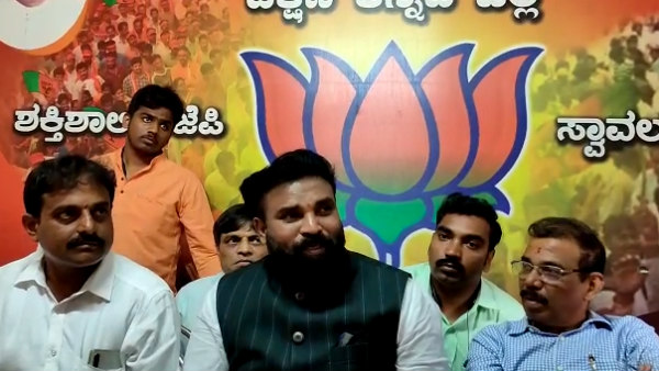 Minister Sriramulu Spoke Against Former CM HD Kumaraswamy In Mangaluru