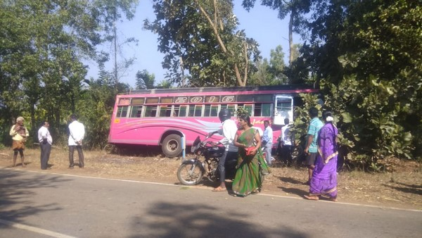 Heart Attack To Driver While Driving Bus In Shivamogga