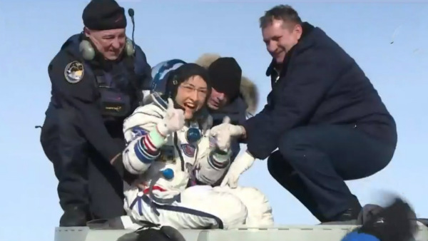 Nasa Astronaut Christina Koch Back To Land From International Space Station