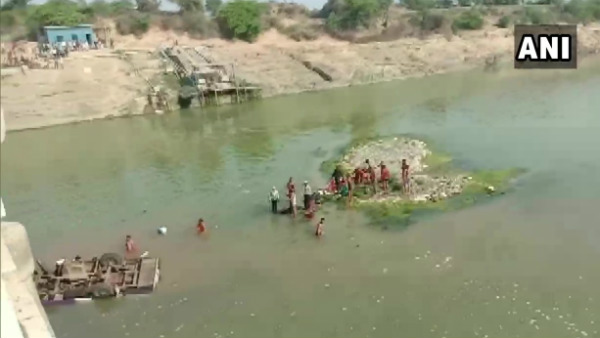 24 Dead Four Injured As Bus Plunges Into River In Bundi