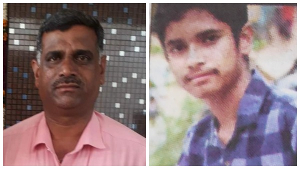 Son And Father Died By Fire Accident In KR Nagar