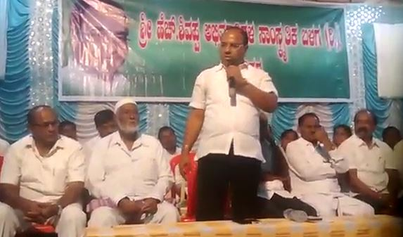 Former MLA HS Shivashankar warned his opponents In Davanagere