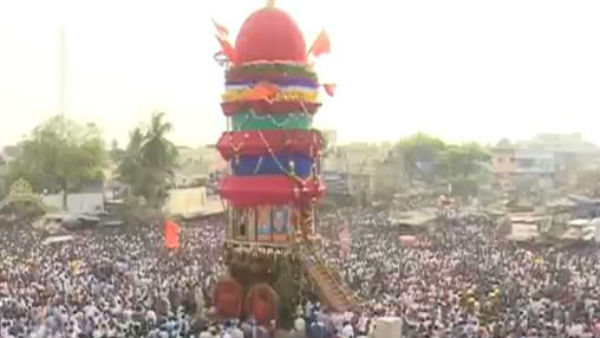 Kottureshwara Famous Jatre Held With The Presence Of Millions Of People