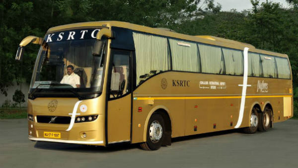 KSRTC Flybus Bus Services From KIA To Anantapur