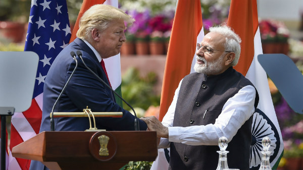 Modi-Trump Signed Three Important MOUs
