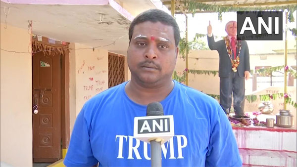 'Urge govt to fulfil my dream': Donald Trump 'bhakt' Bussa Krishna wants to meet US President
