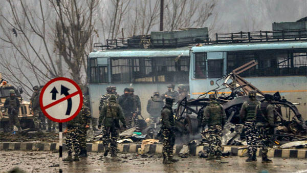 Year For Pulwama Terror Attack Source Of Explosives Till Not Found