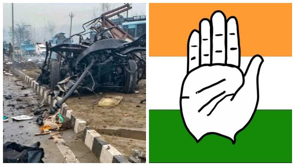 One Year For Pulwama Attack Congress Asks Questions