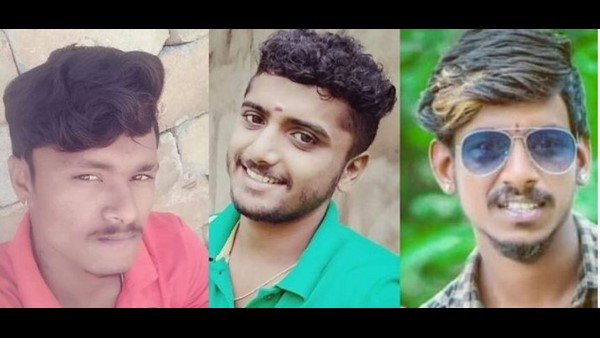 Three Friends Died In Lorry Auto Accident Near Maddur