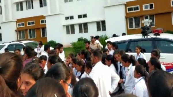 Students Boycotted Classes In MIT Engineering College Tandavapura