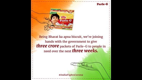 India Lockdown Parle G To Donate 3 Crore Biscuits Packs