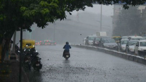 Heavy Rains Accompanied By Wind And Thunderstorm In Bengaluru