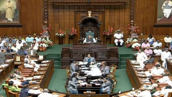 Assembly adjourns for clash between Minister Sudhakar and former Speaker Ramesh Kumar