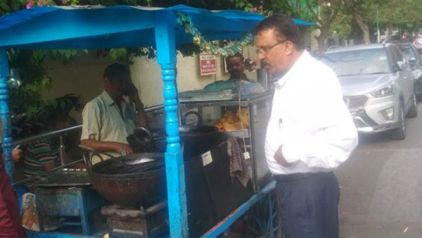 BBMP Take Action Against Footpath Vendors & Food Sellers