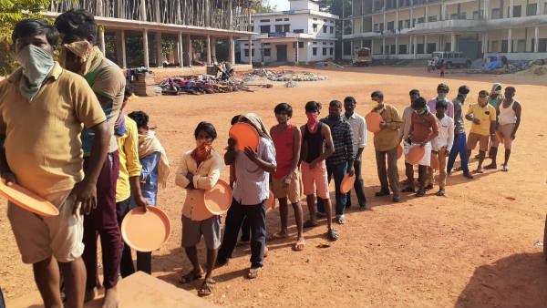 Hundreds of Labours Are Risked In Udupi