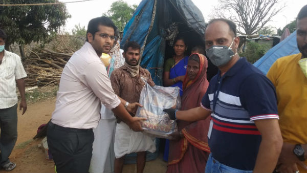 Lockdown: Harohalli Industrial Association Help To Working People