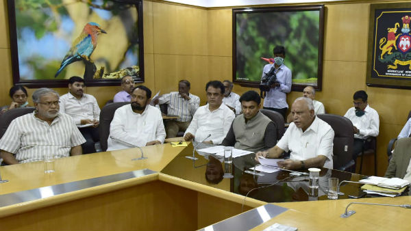 CM BS Yeddyurappa has cre-appointmented the district in charge minister
