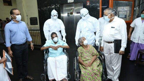 93 Year Old Man Recovered From Covid 19 in Kerala