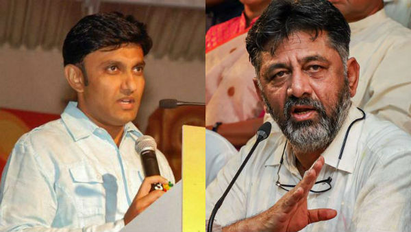Minister Dr.Sudhakar Reply To KPCC President DK Shivakumar Over His Swimming Pool Remark