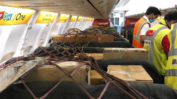 SpiceJet Flies With Urgent Medical Supplies On Passenger Aircraft