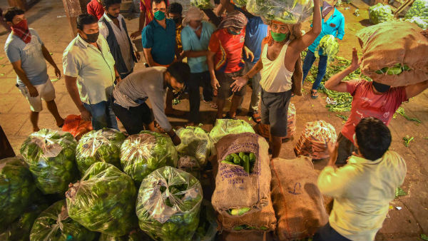 150 Vegetable Vendors In MGR Market Chennai To Undergo Covid-19 Test